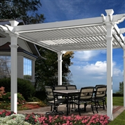 New England  Avalon Louvered Pergola