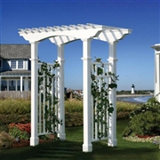 New England  Newport Arbor with Trim