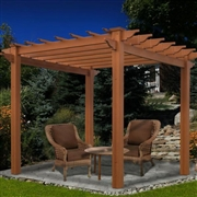 New England  Lakewood Composite Pergola