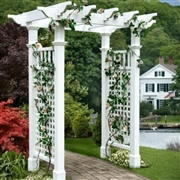 New England  Fairfield Arbor with Trim
