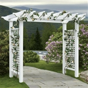 New England  Fairfield Grande Arbor with Trim