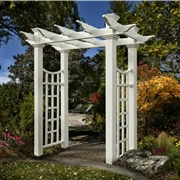 New England  Fairfield Deluxe Arbor
