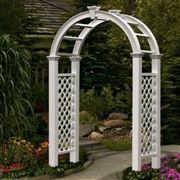 New England  Nantucket Legacy Arbor w/ Trim