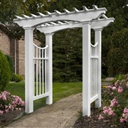 New England  Devonshire Arbor with trim