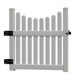 New England  Cottage Picket Gate