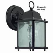 Sunset Lighting 1 Light Outdoor Lantern with Clear Beveled Glass