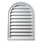 Cathedral Louver Functional FCLV12X24