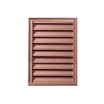 Rustic-vertical-louver-fypon-functional-stainable fypon FLV12X18S