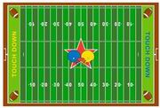 Fun Rugs Fun Time New Football Field Rug [FT-121]