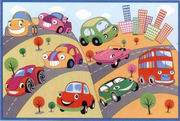 Fun Rugs Fun Time New Fun Cars Rug [FT-517]