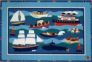 Fun Rugs Olive Kids Boats & Bouys Rug [OLK-002]