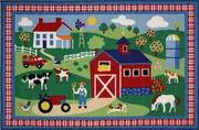 Fun Rugs Olive Kids Country Farm Rug [OLK-016]