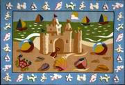 Fun Rugs Olive Kids Sand Castle Rug [OLK-050]