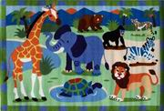 Fun Rugs Olive Kids Wild Animals Rug [OLK-054]
