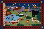 Fun Rugs Olive Kids Camp Fire Friends Rug [OLK-058]