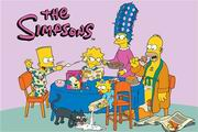 Fun Rugs Simpsons-MP Family Breakfast Rug [SIM-007]