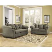 Signature Design by Ashley Darcy Living Room Set in Sage Fabric [FSD-1109SET-SAG-GG]