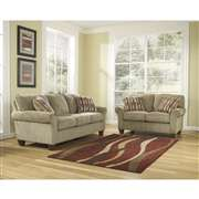 Signature Design by Ashley Newton Living Room Set in Pebble Fabric [FSD-3799SET-PEB-GG]