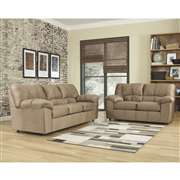 Signature Design by Ashley Dominator Living Room Set in Mocha Fabric [FSD-8799SET-MOC-GG]