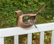 Good Directions Enchanted Bird - Bird Feeder - Bronze