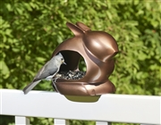 Good Directions Enchanted Rabbit - Bird Feeder - Bronze