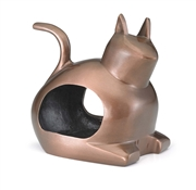 Good Directions Enchanted Cat - Bird Feeder - Bronze