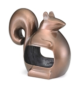Good Directions Enchanted Squirrel - Bird Feeder - Bronze