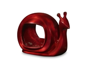 Good Directions Enchanted Snail - Bird Feeder - Ruby