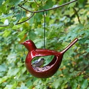 Good Directions Enchanted Hanging Bird - Bird Feeder - Ruby