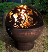 "Good Directions 26"" Fire Bowl with Orion FireDome"