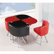Global Furniture Glass Dining Table [D536-1DT]