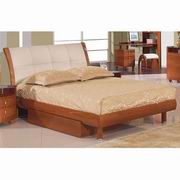 Global Furniture Evelyn Twin Bed in Cherry [EVELYN-CH-TB]