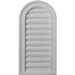 -Cathedral-Gable-Vent-Louver,-Functional-GVCA12X24F