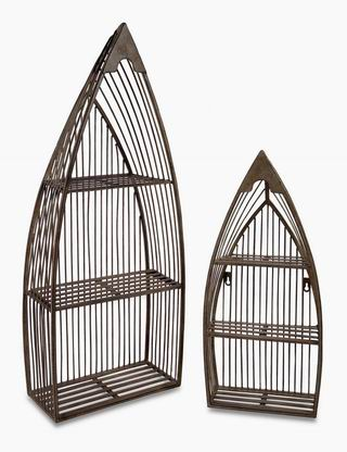 Imax, Nesting Boat Shelves - Set of 2 (10667-2)