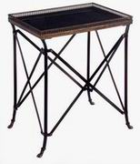Imax, Rectangular Black Accent Table (12003)