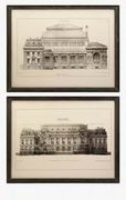 Imax, Duvall Framed Wall Prints - Set of 2 (27568-2)
