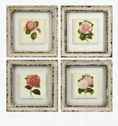 Imax, Lynette Framed Artwork - Set of 4 (47338-4)