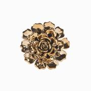 Imax, Metallic Small Ceramic Wall Flower (64233)
