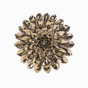 Imax, Metallic Medium Ceramic Wall Flower (64234)