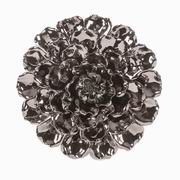 Imax, Metallic Large Ceramic Wall Flower (64235)