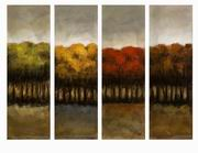 Imax, The Four Seasons Four Canvas Oil Painting (70138)
