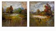 Imax, Guennola Oil Painting - Set of 2 (70340-2)