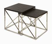 Imax, Armanie Stainless Steel Nesting Tables - Set of 2 (70620-2)