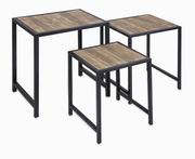 Imax, IK Groveport Nesting Tables-Set of 3 (74145-3)