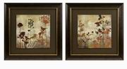 Imax, Tibbits Silhouette Framed Art - Set of 2 (82070-2)