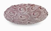 Imax, Peppermint Swirl Glass Bowl (83168)