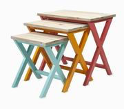 Imax, Maldonado Nesting Tables - Set of 3 (85307-3)