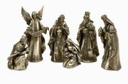 Imax, Silver Glory Nativity - Set of 6 (88242-6)