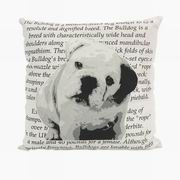Imax, Bulldog Heritage Pillow (89937)