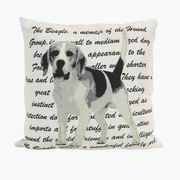 Imax, Beagle Heritage Pillow (89938)